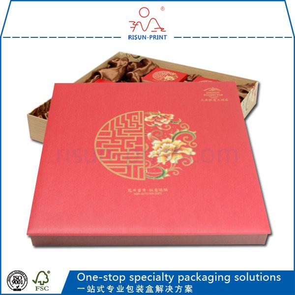 月饼盒包装印金印银和烫金烫银区别-济南尚邦佳品包装制品有限公司
