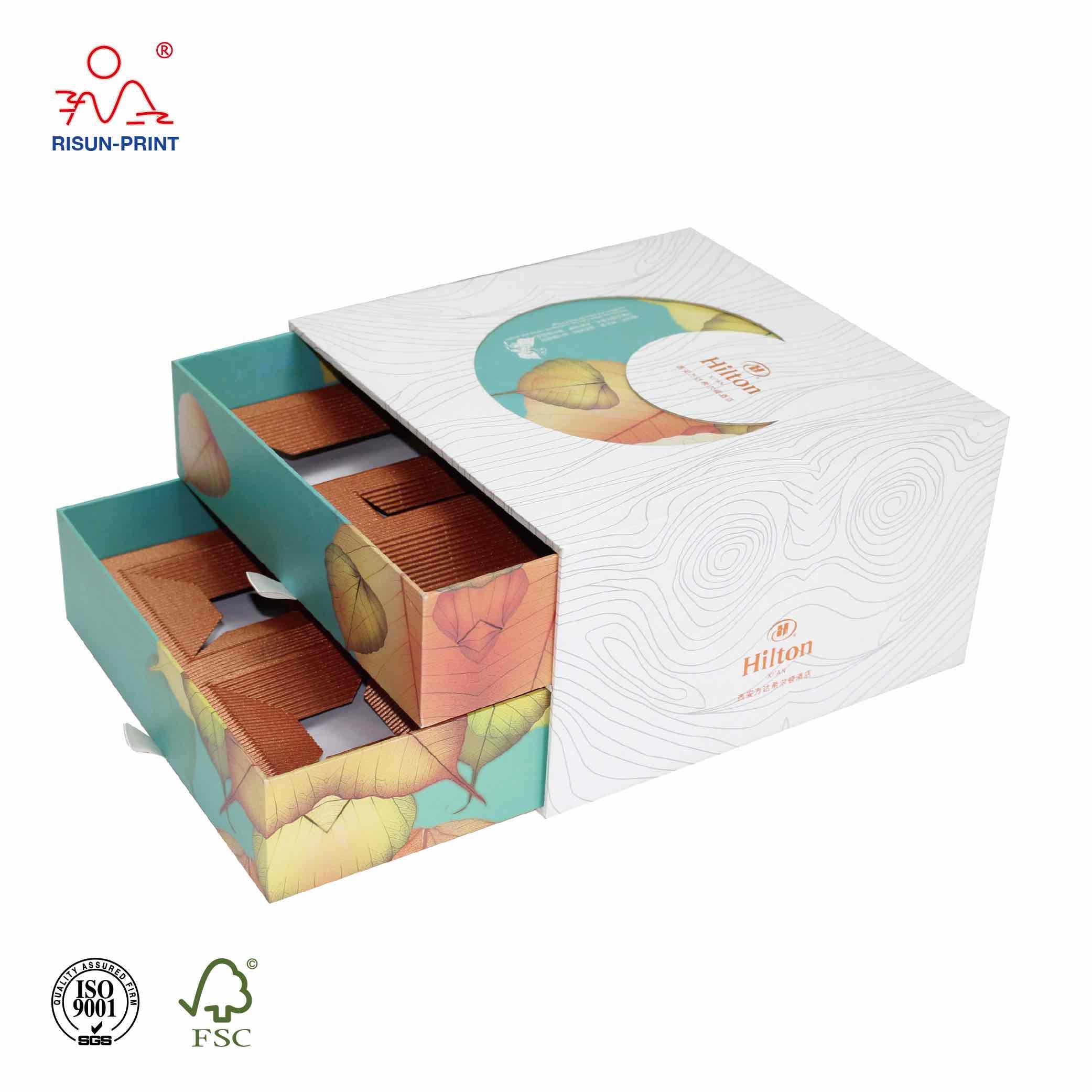 礼品包装盒厂家裱工艺会出现的常见问题-济南尚邦佳品包装制品有限公司