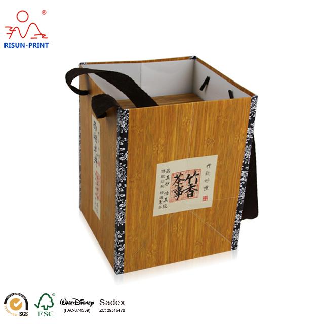 西湖龙井茶叶礼品盒货期准时价格实惠-济南尚邦佳品包装制品有限公司