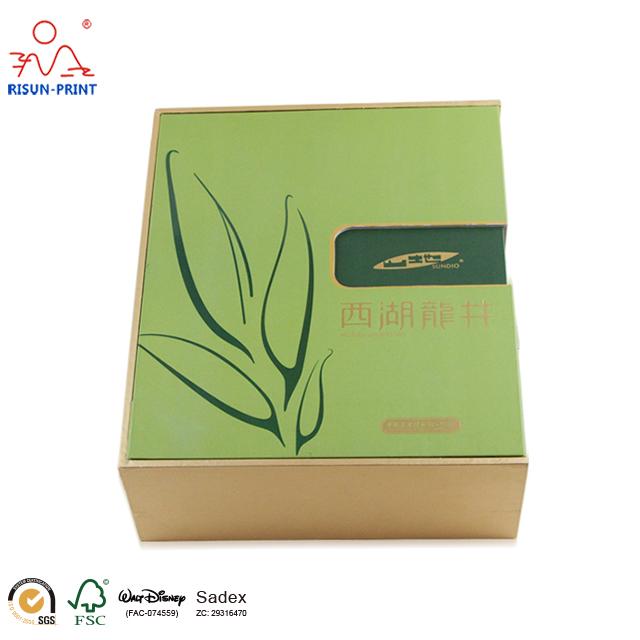 西湖龙井山地茶叶礼品盒-济南尚邦佳品包装制品有限公司