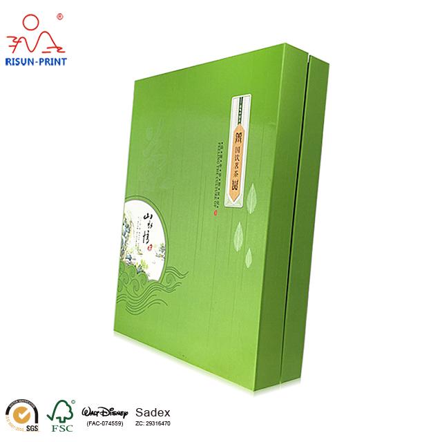 茶叶礼品盒专业从事茶叶礼品盒各种纸品印制-济南尚邦佳品包装制品有限公司