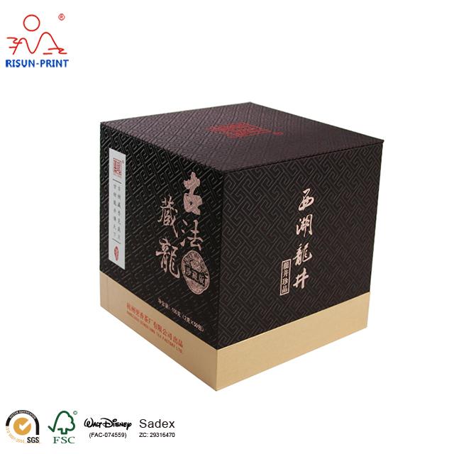 西湖龙井茶叶精装礼盒厂家直营品质放心-济南尚邦佳品包装制品有限公司