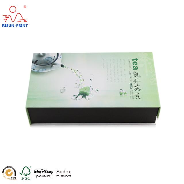 龙井茶叶礼品包装盒高档设计高性价比-济南尚邦佳品包装制品有限公司
