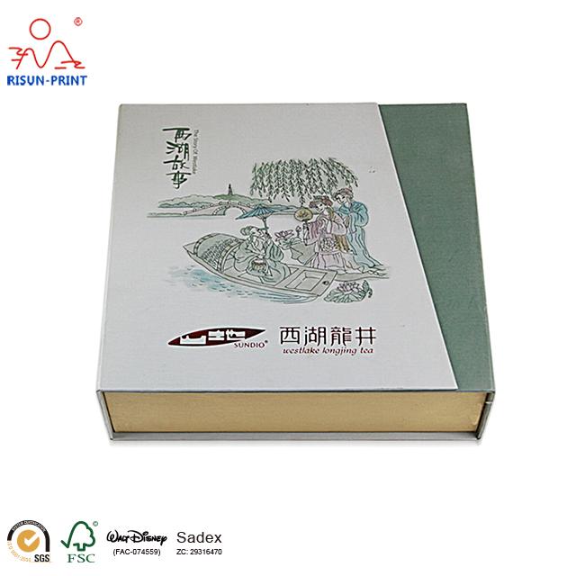 山东茶叶礼品盒包装厂家工厂规模大-济南尚邦佳品包装制品有限公司