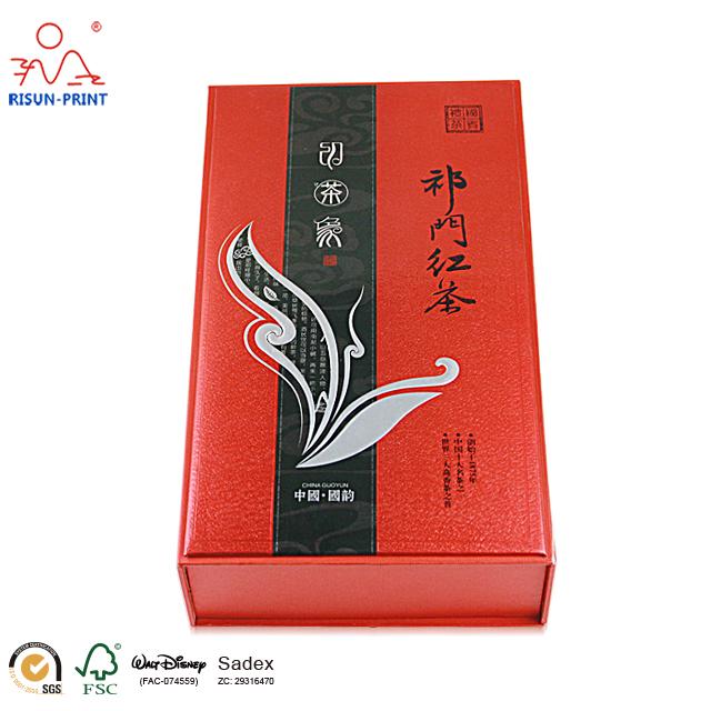 祁门红茶礼盒装免费为你提供方案制作-济南尚邦佳品包装制品有限公司