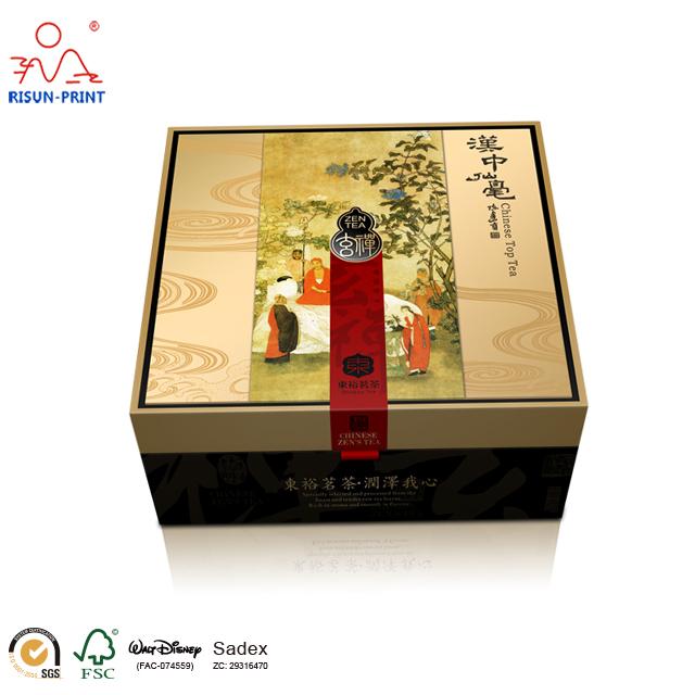 小批量茶叶包装盒定制个性化茶叶包装盒定制-济南尚邦佳品包装制品有限公司