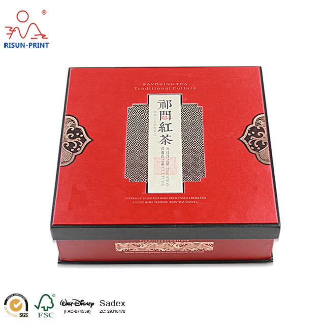 红茶茶叶礼品盒精心为您量身定做红茶茶叶礼品盒-济南尚邦佳品包装制品有限公司