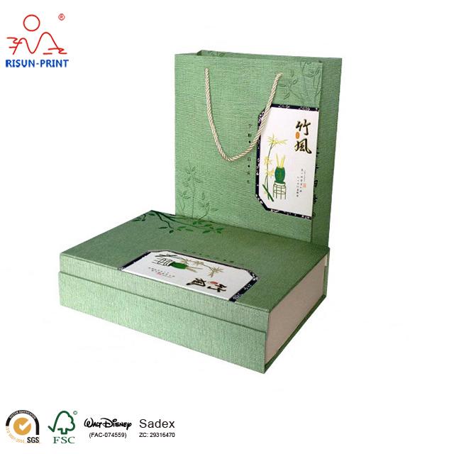 书型个性创意茶叶礼盒空盒定制-济南尚邦佳品包装制品有限公司