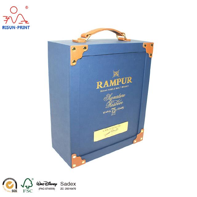 酒盒的设计与印刷酒盒包装厂家13760600787-济南尚邦佳品包装制品有限公司