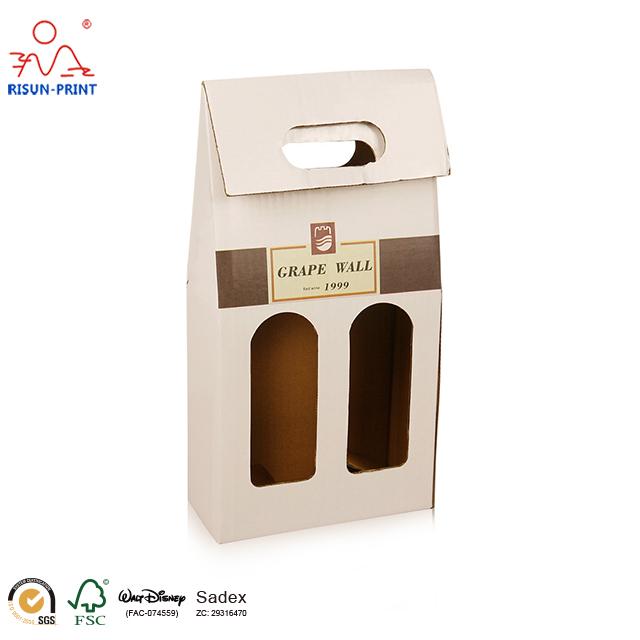 酒盒瓦楞纸酒盒包装-济南尚邦佳品包装制品有限公司