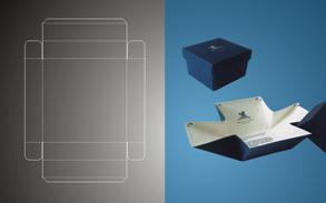 设计手绘及盒型结构